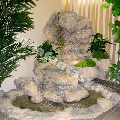 Как сделать фонтан в квартире