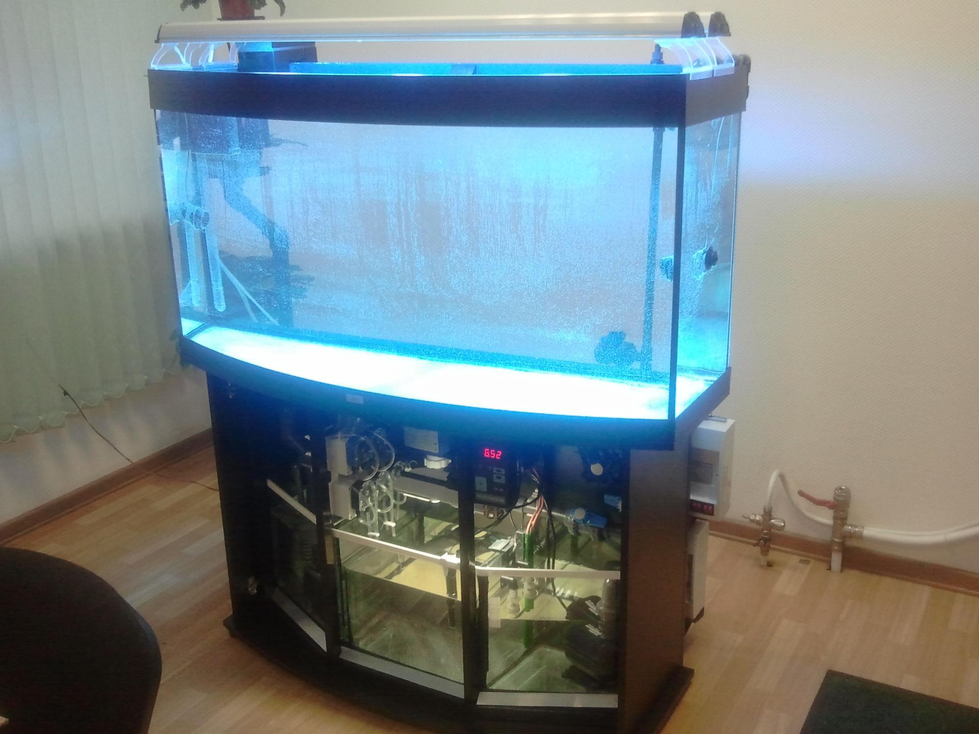 Все для аквариума своими руками холодильник