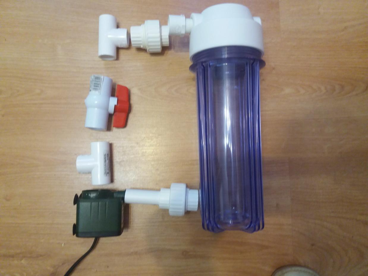 Делаем простые аквариумные фильтры своими руками 76