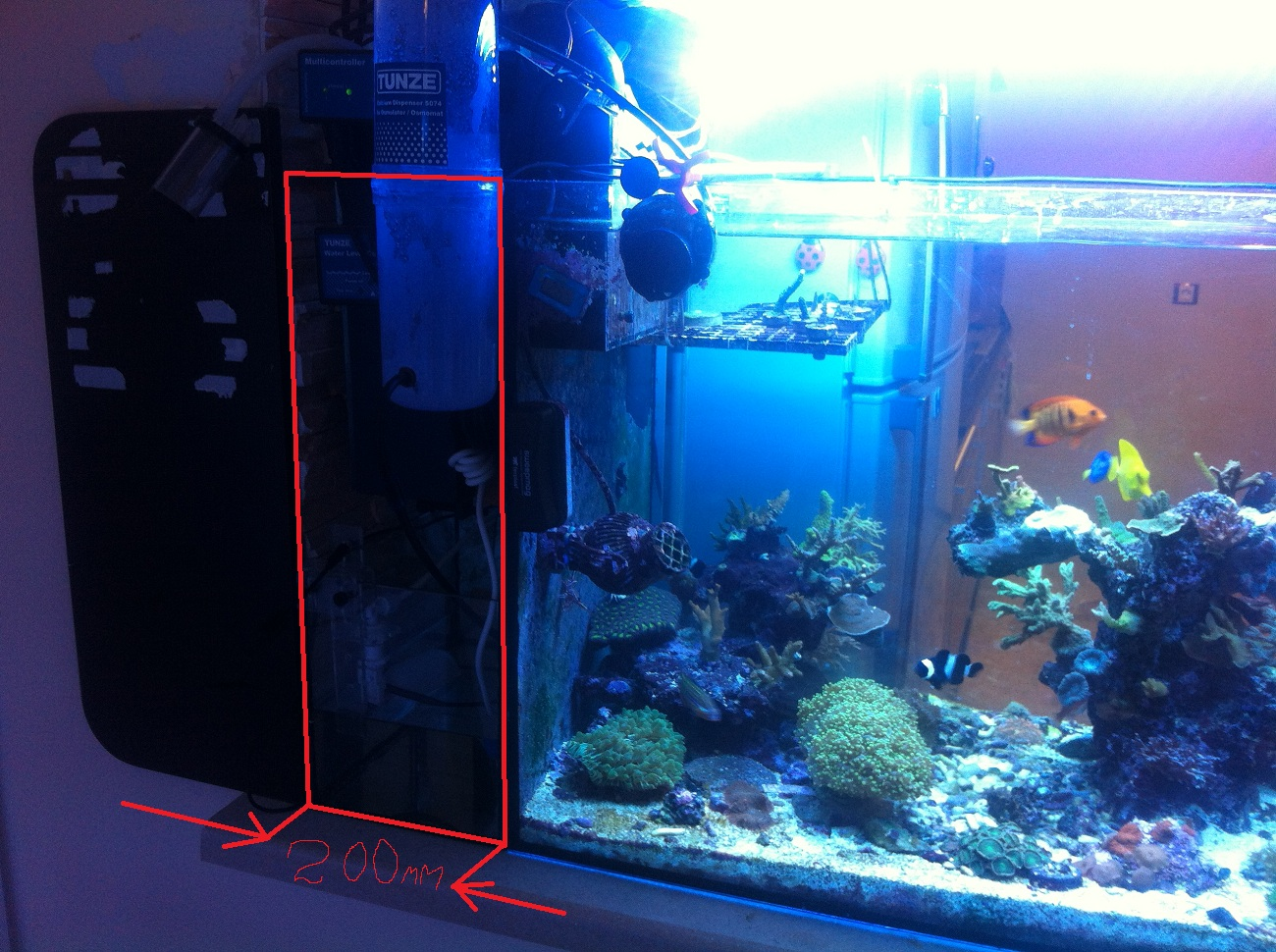 Пристрой к аквариуму САМПа - Планирую морской аквариум - ReefCentral.ru - Форум. Морская аквариумистика.